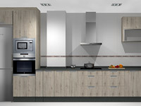 Cocina 3D modelo 1