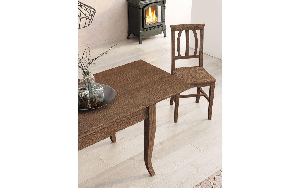 Mesa de cocina modelo Asturias Roble