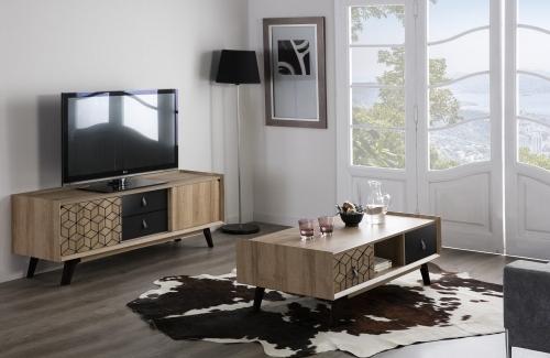 Mueble TV  Ceilan 2 puertas correderas /2 cajones