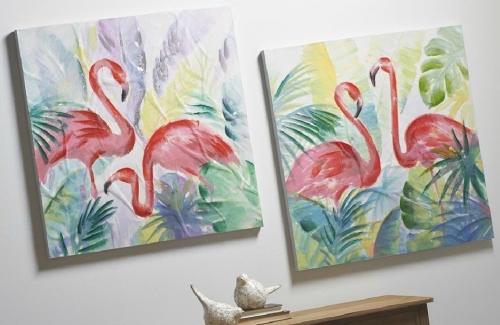Cuadros de flamingos